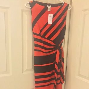 Black and Red Cache dress